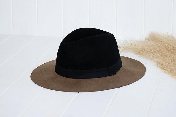 SUNDAISE Wanda Hat - Black