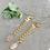 Thumbnail: TWIGG Rose Quartz Link Earrings