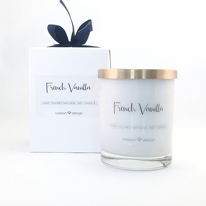 KASBAH French Vanilla Soy Candle