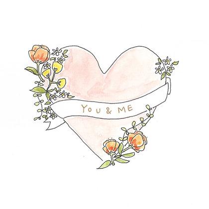 "EMKO ""You + Me"" Card"