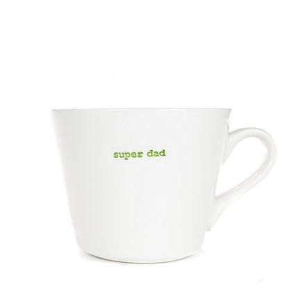 KBJ Super Dad Bucket Mug