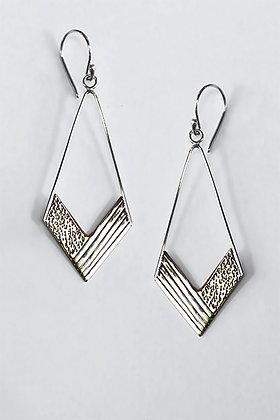 PELE Corozo Silver Earrings