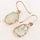 Thumbnail: TWIGG Rimmer Rose Gold Pearl Earrings
