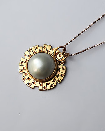 PELE Latitude Pearl Pendant
