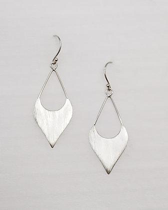 PELE Sapodilla Silver Earrings