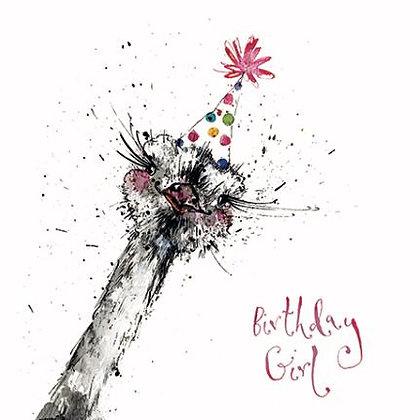 "EMKO ""Birthday Girl"" Card"