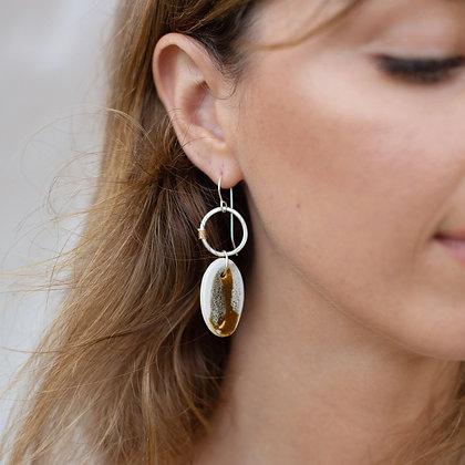 OCHRE Petal Earrings