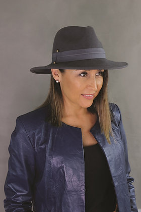 SUNDAISE Rhianna Hat - Slate