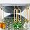 Thumbnail: TWIGG Water Droplet Sea Glass Earrings