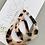 Thumbnail: TWIGG Tortoise Teardrop Earrings