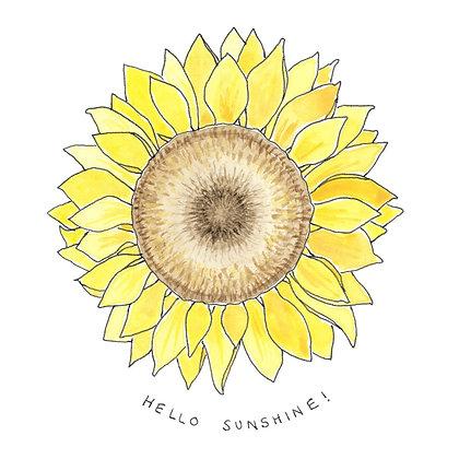"EMKO ""Hello Sunshine"" Card"