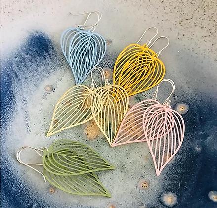 TWIGG Summer Leaf Earrings