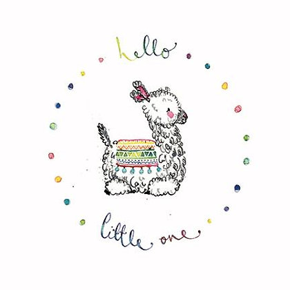 "EMKO ""Hello Little One"" Card"
