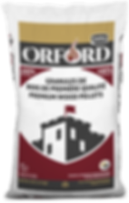 Orford wood pellet bag