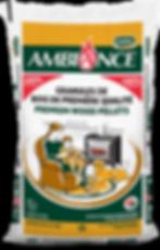 Ambiance wood pellet bag