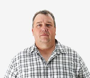 Gestionnaire de production Angus Patterson