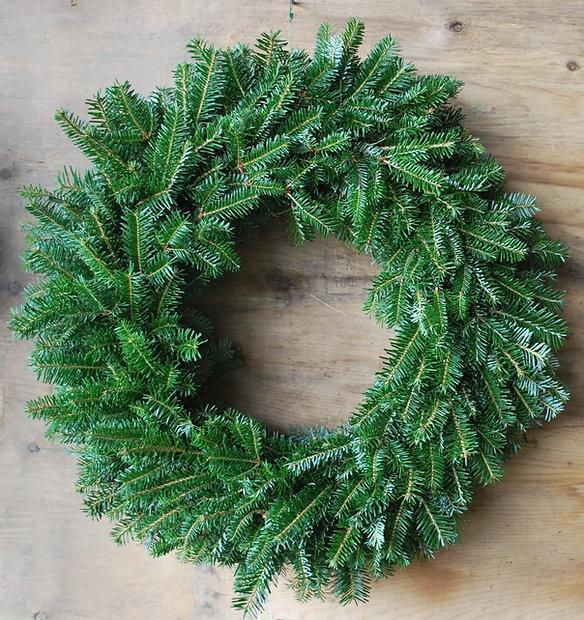 Balsam Fir Christmas Wreath