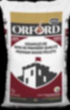 Orford bag of wood pellets