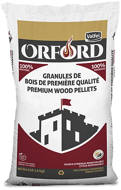 Orford bag of wood pellets