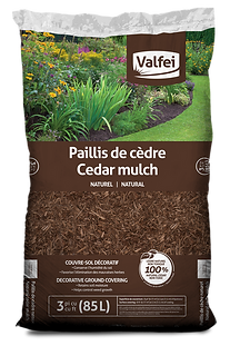 Valfei Natural Cedar Mulch bag