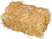 Straw bedding