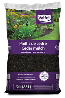 Valfi Black Cedar Mulch bag