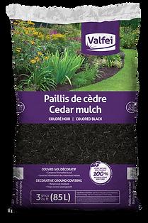 Valfi Black Cedar Mulch bag