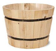 Half Cedar Barrel