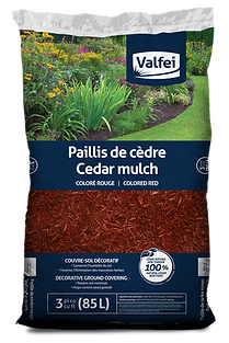 Valfei Red Cedar Mulch bag