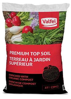 sac de terre à jardin Valfei
