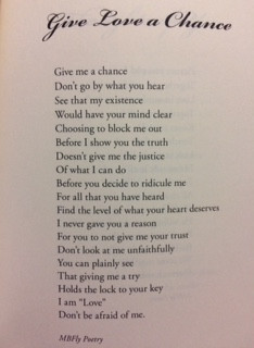 """Another one of my favorite poems from """"Thoughts of a Butterfly"""""""