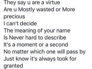Random poem