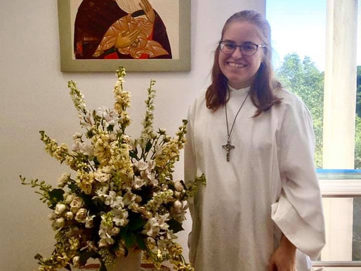 A New Postulant at the Community of St. Mary - Southern Province