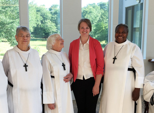 New Postulant at the Order of St. Helena