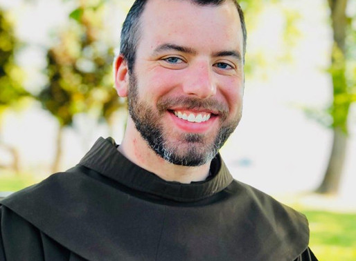 Brother James Nathaniel elected to First Vows