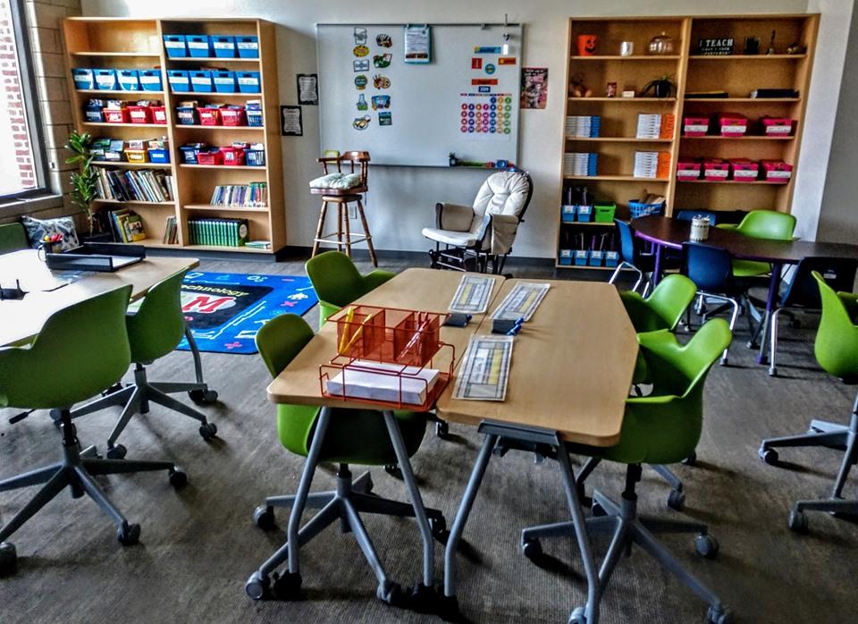 New classroom at Bethany School