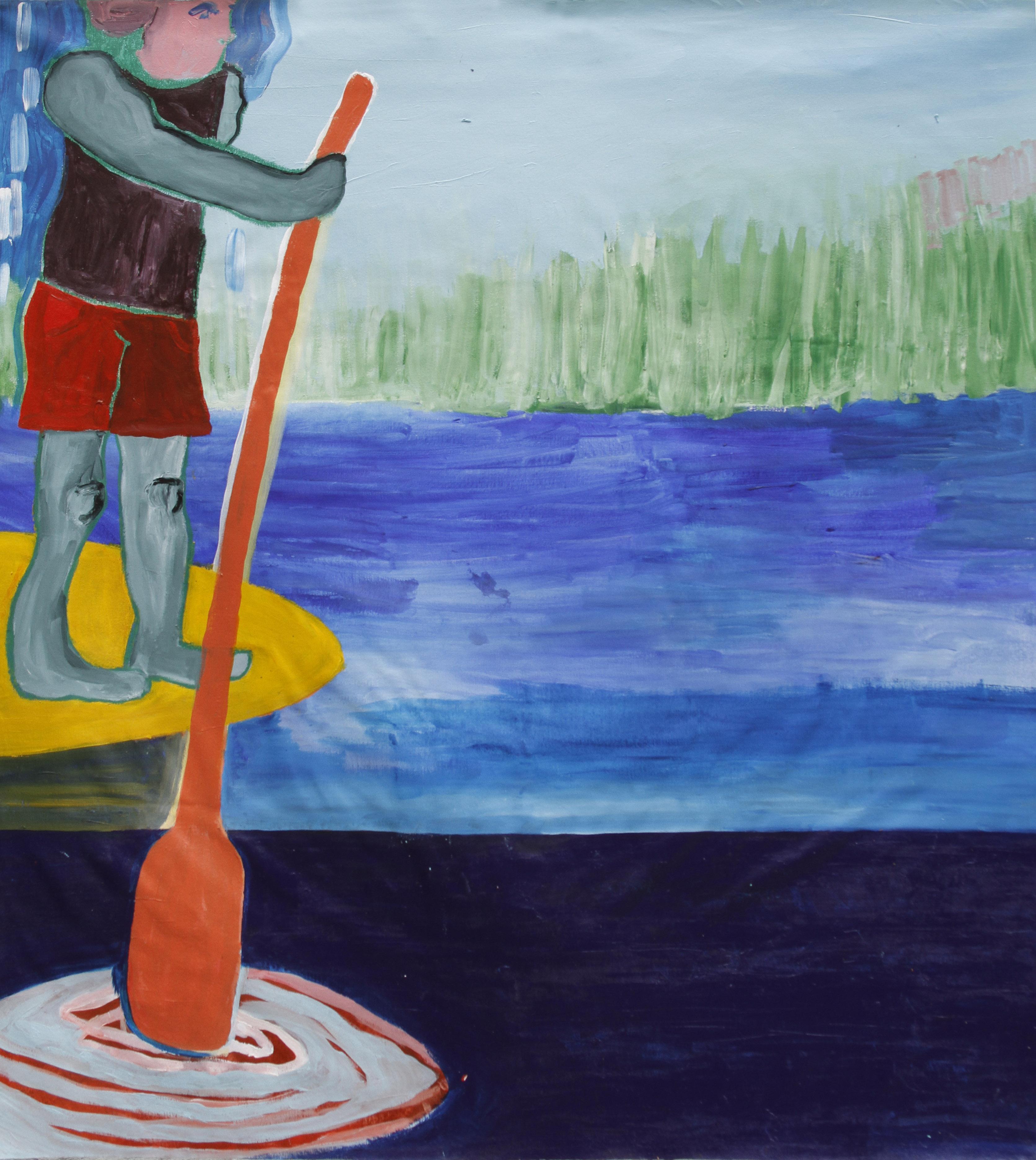 Paddle-surfeando