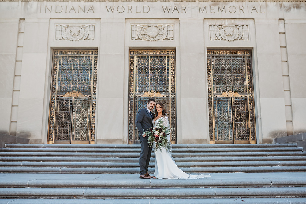 Indiana War Memorial Wedding