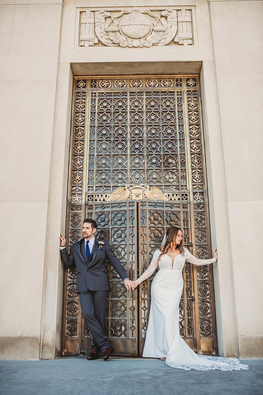Indiana War Memorial Museum Wedding