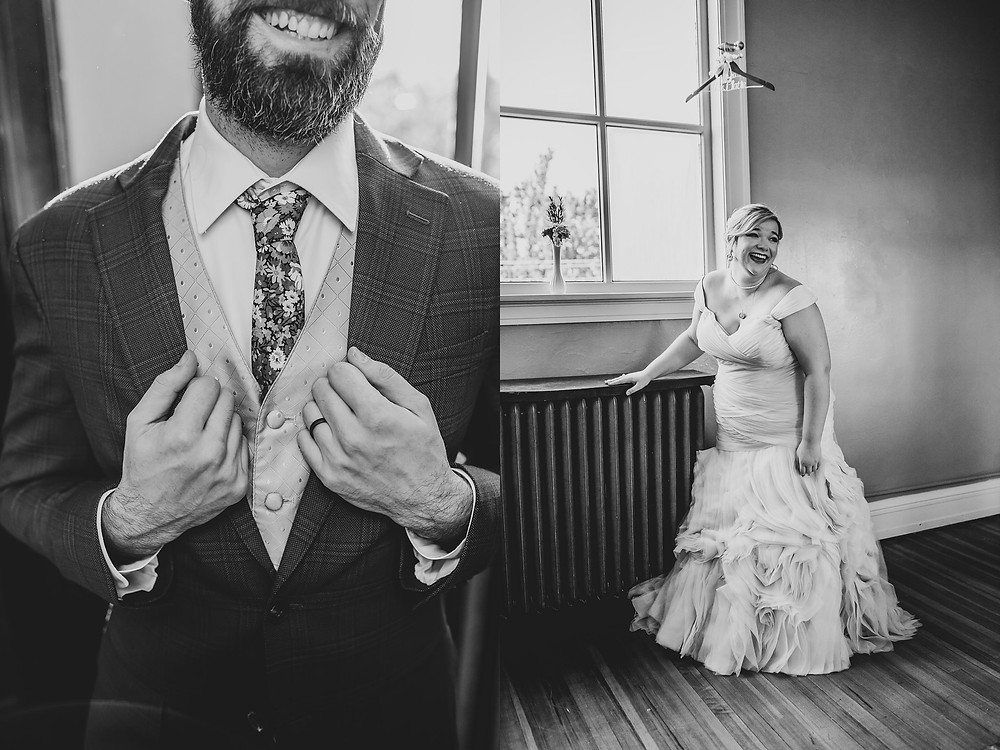 Indianapolis Wedding, Irvington Lodge