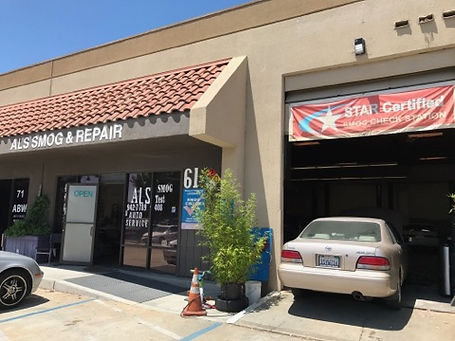 smog test and auto repair shop