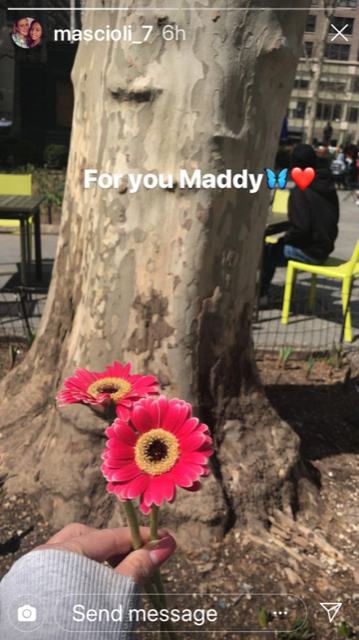 Maddy's friends post memorial