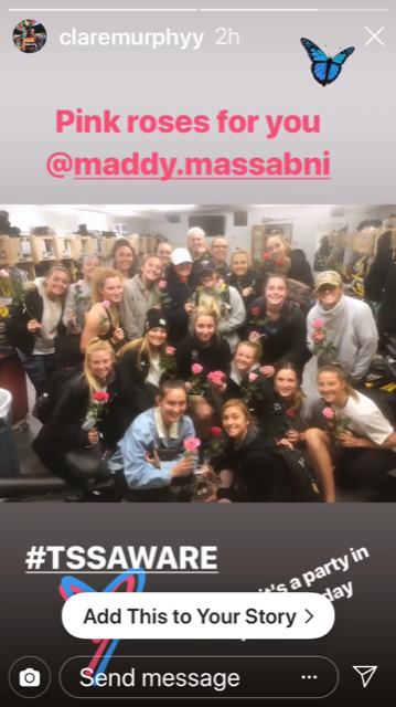 Friends and family commemorate Maddy
