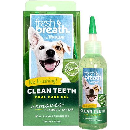 Fresh Breath - Dog Oral Care Gel & Dental Chew