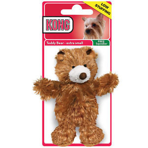 Kong Teddy Squeaker Toy - Extra Small