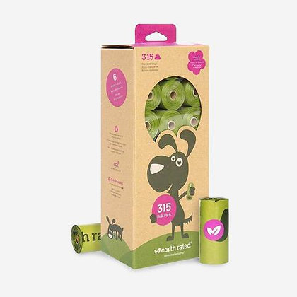 Earth Rated Poop Bag Refill - Multipack 315