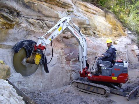 Selecting an excavator