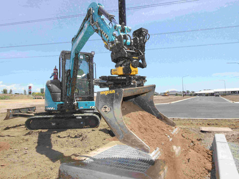 Tiltrotator delivers speed and precision