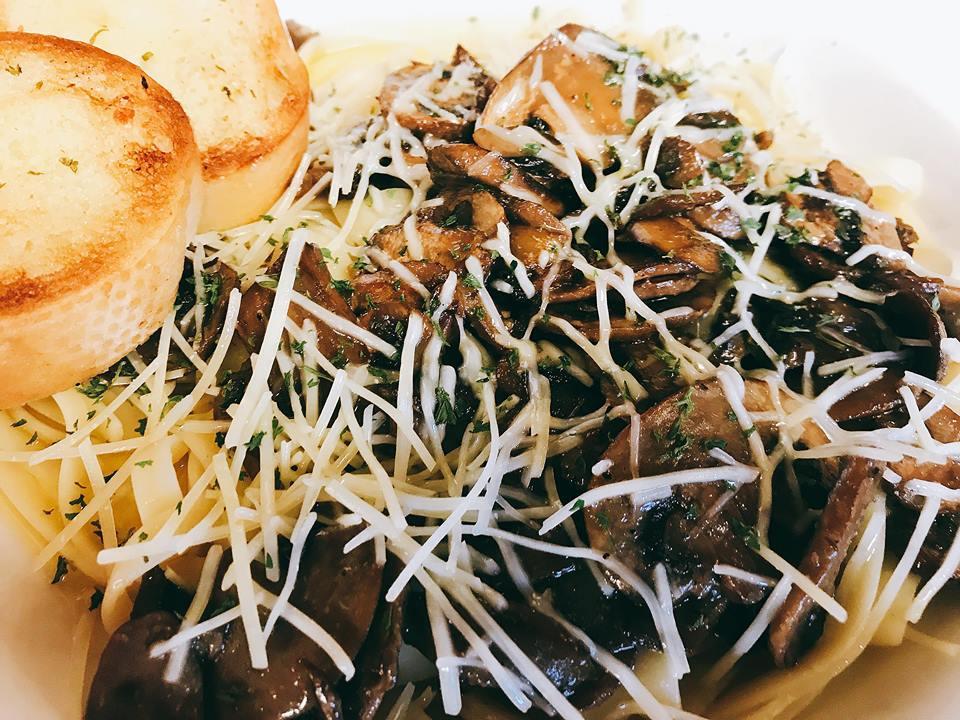 Mushroom Fettuccine
