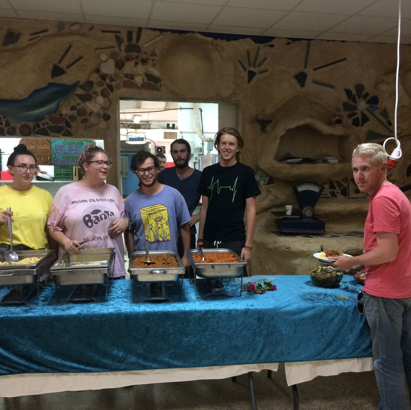 Cooking for the Kibbutz